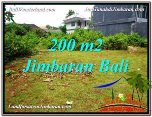 Affordable 200 m2 LAND FOR SALE IN JIMBARAN TJJI107