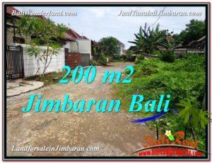 Exotic Jimbaran Ungasan 200 m2 LAND FOR SALE TJJI106