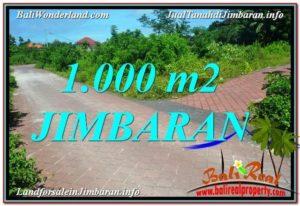 Affordable PROPERTY 1,000 m2 LAND IN JIMBARAN BALI FOR SALE TJJI111
