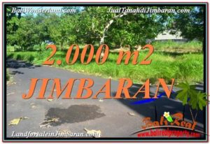 Beautiful 2,000 m2 LAND IN Jimbaran Uluwatu  BALI FOR SALE TJJI114