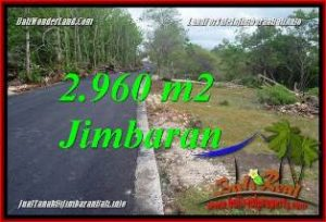 Beautiful PROPERTY 2,960 m2 LAND FOR SALE IN JIMBARAN TJJI133A